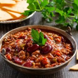 Chili Sin- carne, tacos et...