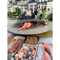 Assiette barbecue terre & mer